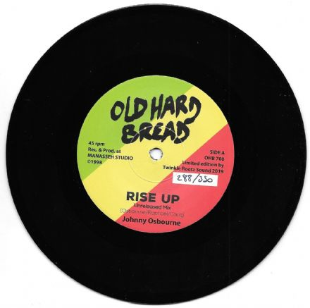Johnny Osbourne - Rise Up (Unreleased Mix) / Riz All Stars - Version (Old Hard Bread) 7""
